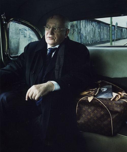 Mikhail  Gorbachev and Louis Vuitton
