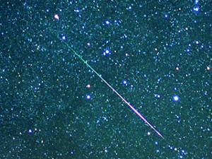 Geminid Meteor shower - december 2010