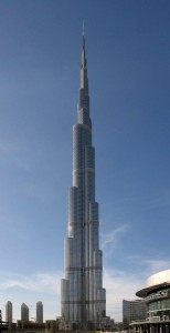 World's largest tower Burj Khalifa