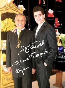 Fashion designer Bijan Pakzad dies