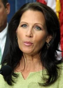 Michele Bachmann is candidate at GOP Debate