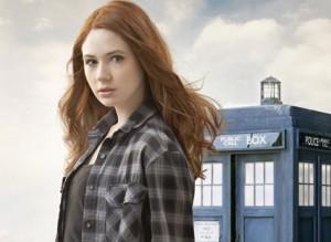 Dr Who star Karen Gillan was found naked