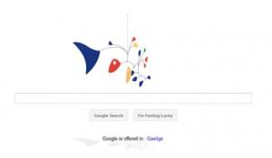 Google's Alexander Calder birthday
