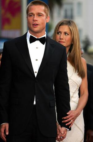 moreha tekor akhe: Bra... Brad Pitt Jennifer Aniston