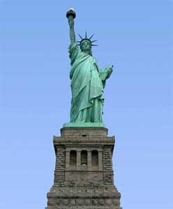 125th birthday of Statue of Liberty