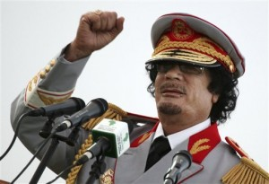 Moammar Gadhafi's death