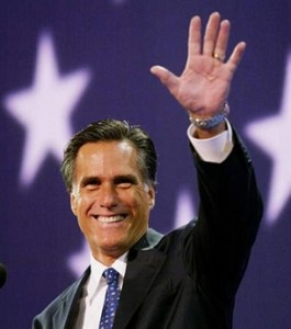 Mitt Romney at Iowa debate