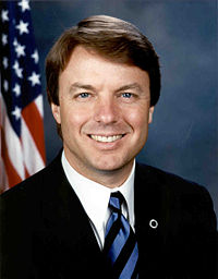 John Edwards and heart condition