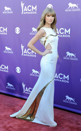 Taylor Swift,J. Mendel. Swift, acm awards 2012