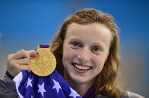 Katie Ledecky wins Olympic gold medal
