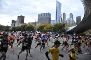 Chicago marathon 2012