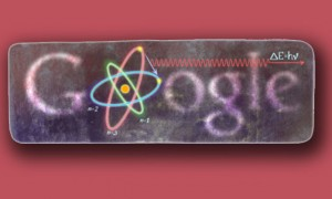 Google doodle and Niels Bohr 127th birthday