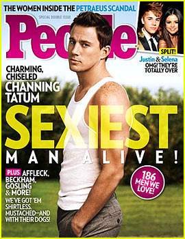 Channing Tatum is sexiest man alive