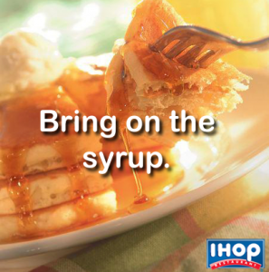 Pancake Day at IHOP
