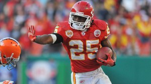 Chiefs' Jamaal Charles strains foot