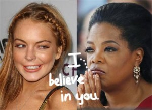 Lindsay Lohan tells Oprah Winfrey about her life