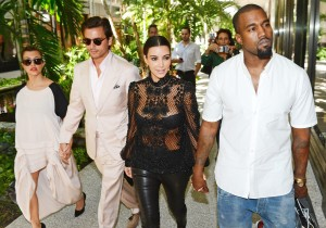 Kim Kardashian and Kanye West get engaged