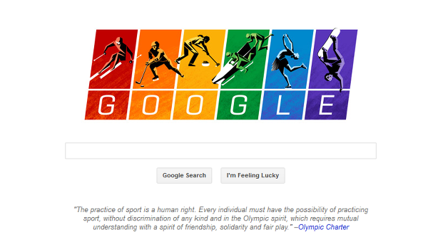 0eb4109fa5e Sochi Olympics and Google Doodle - The News Of ...